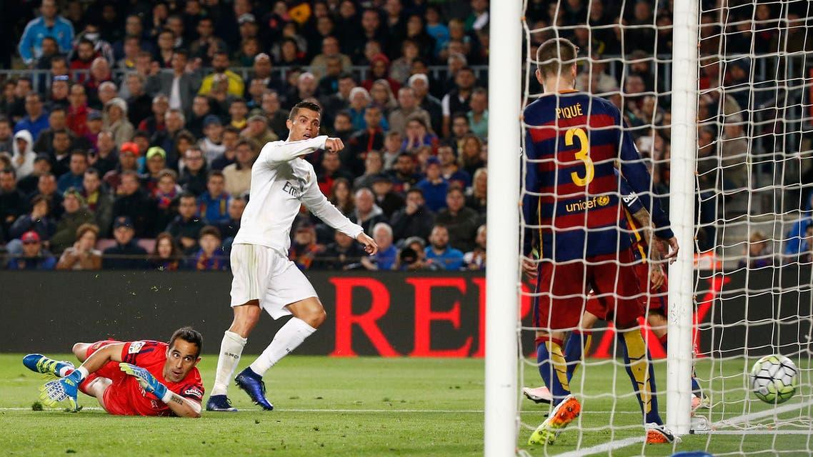 رونالدو برشلونة ريال مدريد