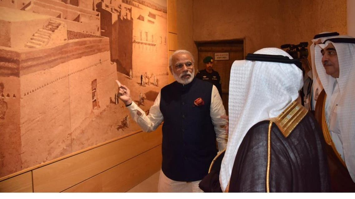 Modi has bolstered ties with the six-nation Gulf Cooperation Council -- Bahrain, Kuwait, Oman, Qatar, Saudi Arabia and the United Arab Emirates (Twitter)