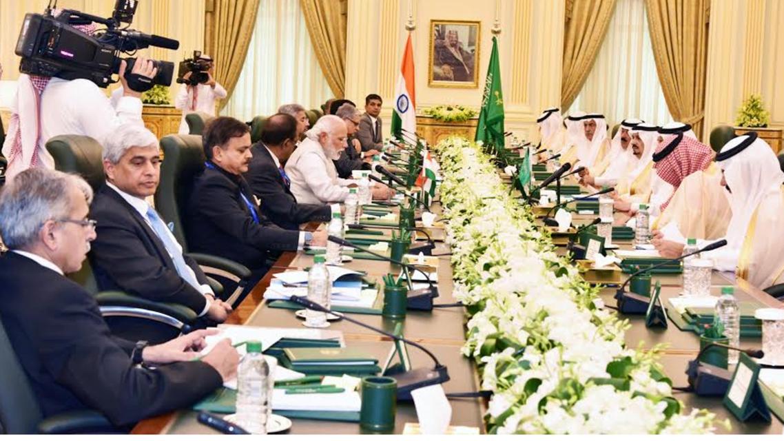 Indian prime minister visits Saudi Arabia