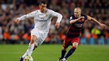 Ronaldo winner ends Barcelona's 39-game unbeaten run
