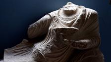 'داعش نے تدمر میں  تاریخی مورتیوں کے سرتوڑ دیے'