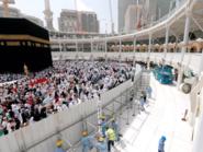 السعودية.. بدء إزالة المطاف المؤقت في المسجد الحرام