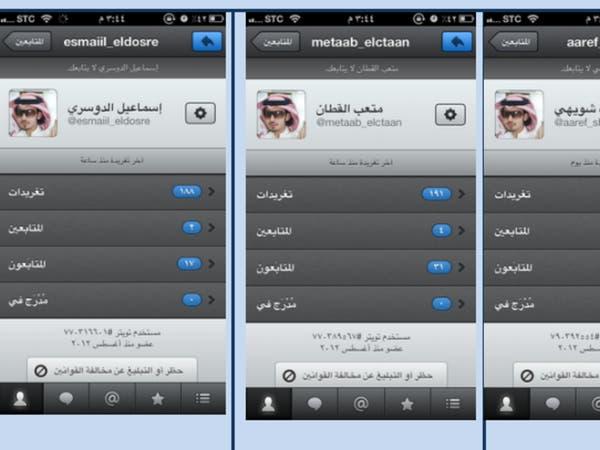 """حسابات وهمية تغرق السعوديين في """"تويتر"""""""