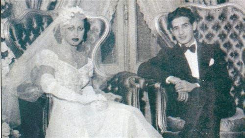 صورة لحفل زفاف الصحافي احسان عبد القدوس
