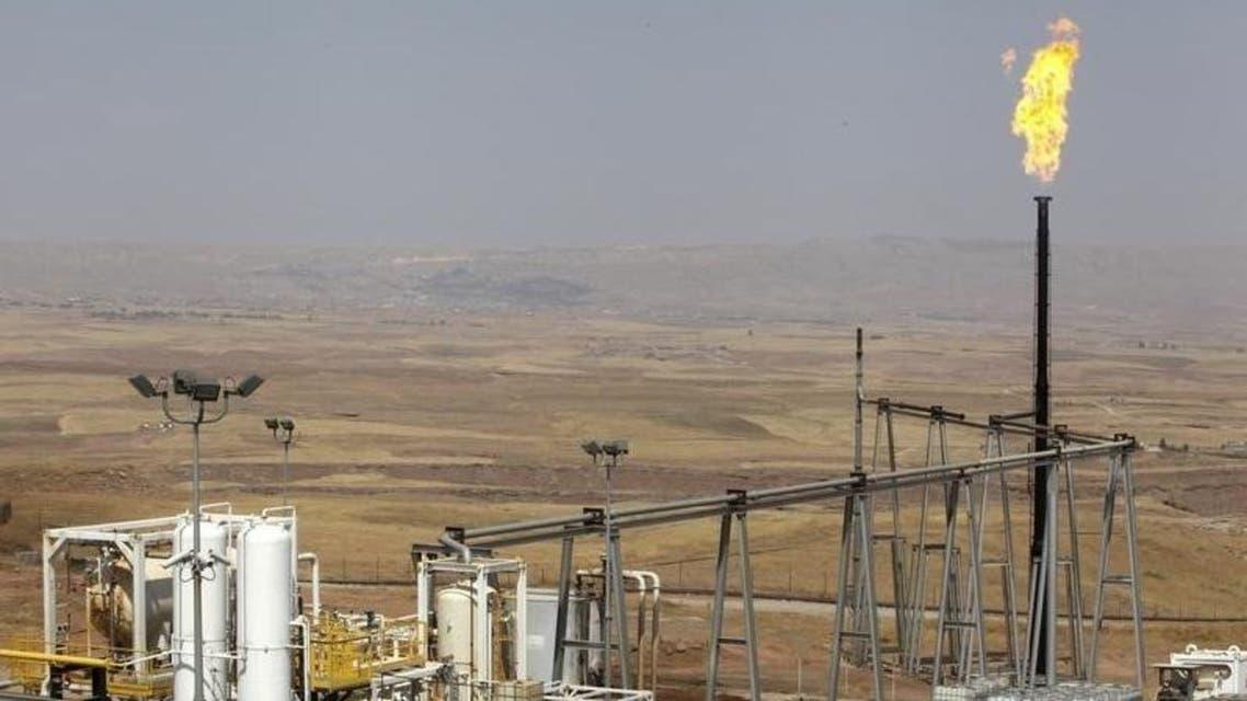 حقل طق طق النفطي في أربيل بإقليم كردستان العراق. صورة من أرشيف رويتر