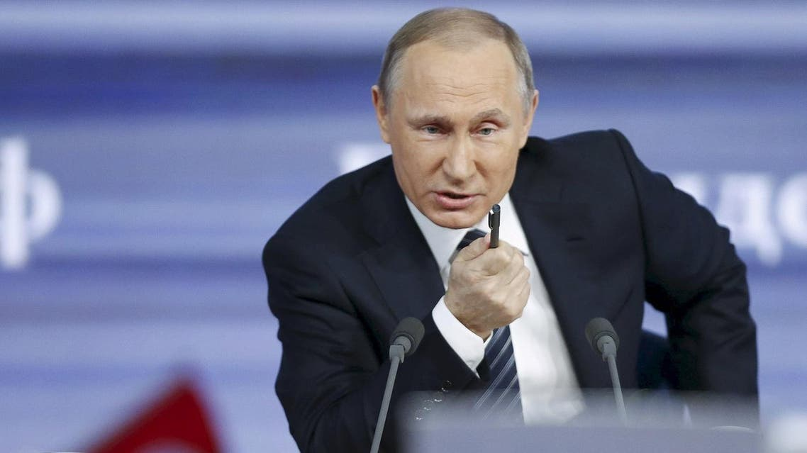 Although Putin's name is not mentioned in the documents, his close associates 'secretly shuffled as much as $2 billion through banks'. (File photo: Reuters)