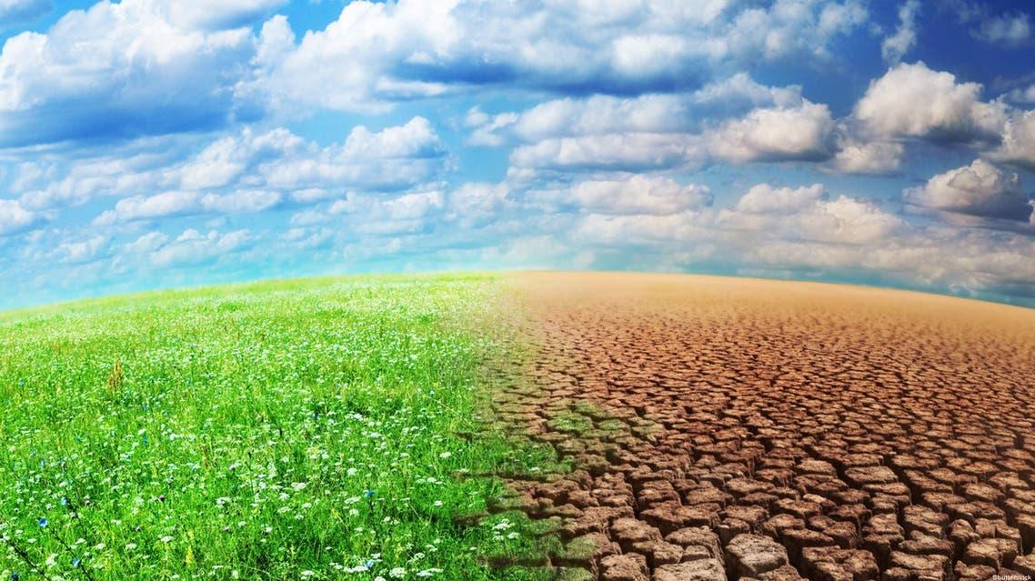 التغيير المناخي التصحر