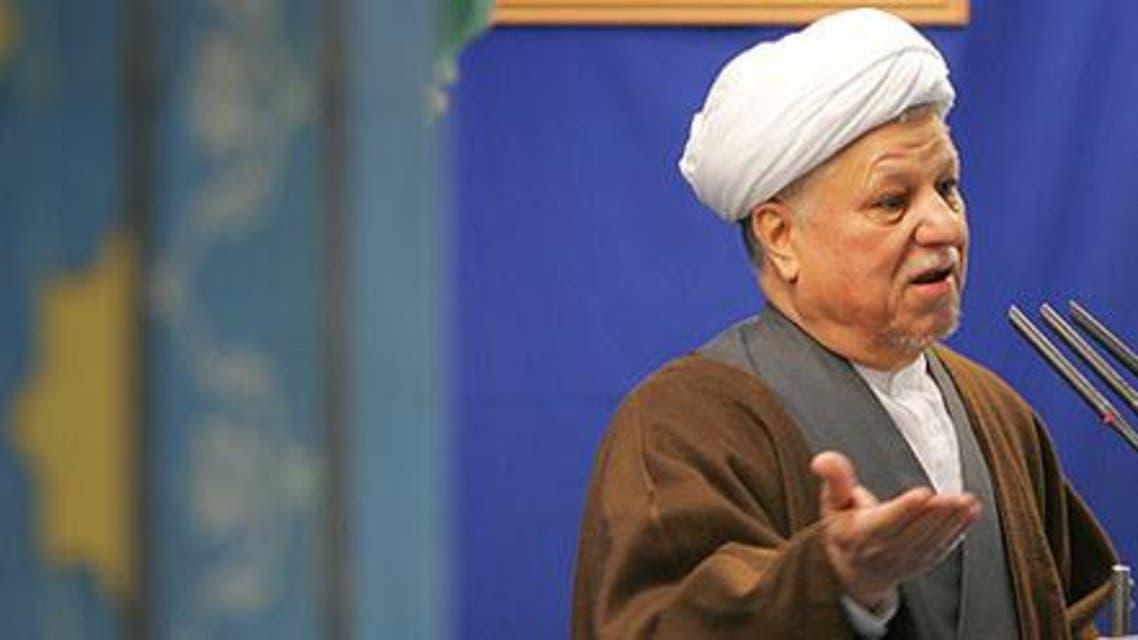 رفسنجانی در آخرین نماز جمعه