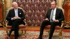 UN Syria envoy meets Lavrov in Moscow ahead of peace talks resumption