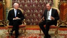 روسيا تؤكد لدي ميستورا دعمها للمفاوضات السورية