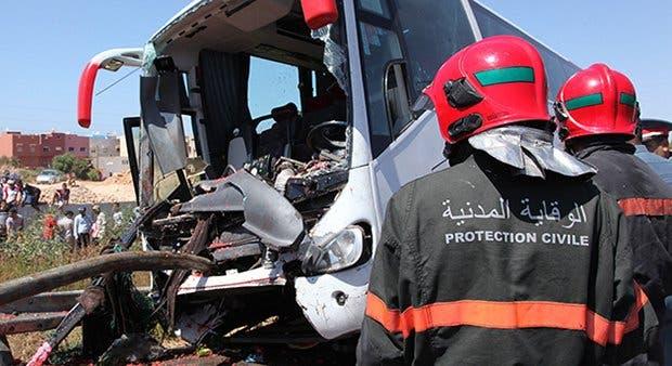 من حوادث المرور في المغرب