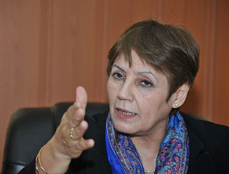 نورية بنت غبريط وزيرة التربية في الجزائر