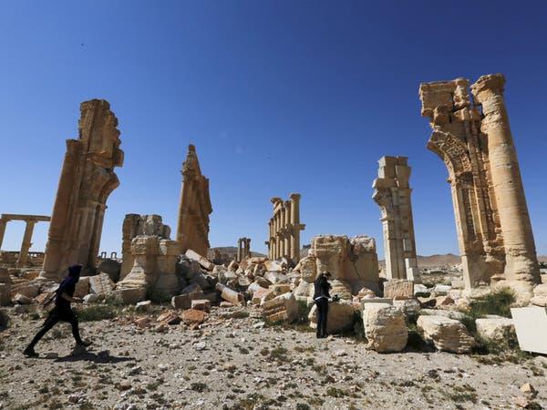 سوريا.. الجيش الروسي يطهر موقع تدمر الأثري من الألغام