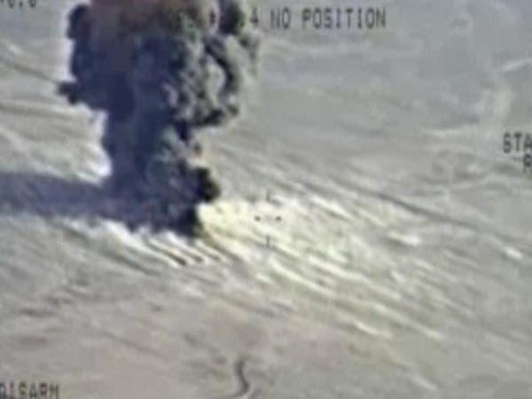 """التحالف يستهدف """"داعش"""" في هيت والموصل وسنجار"""