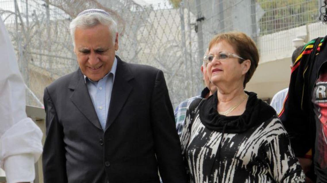 Katsav became president in 2000 and for months defied enormous public pressure to quit over the allegations before ultimately resigning as part of a plea bargain in 2007 (Flash90)(Flash90)
