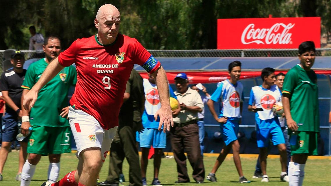 Reports said Infantino had signed off on a contract with two Argentine businessman who were later indicted. (Reuters)