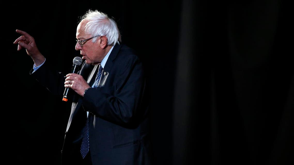 Democratic presidential candidate, Sen. Bernie Sanders I-Vt., speaks during a campaign stop Wednesday, April 6, 2016, at Tindley Temple United Methodist Church in Philadelphia. (AP)