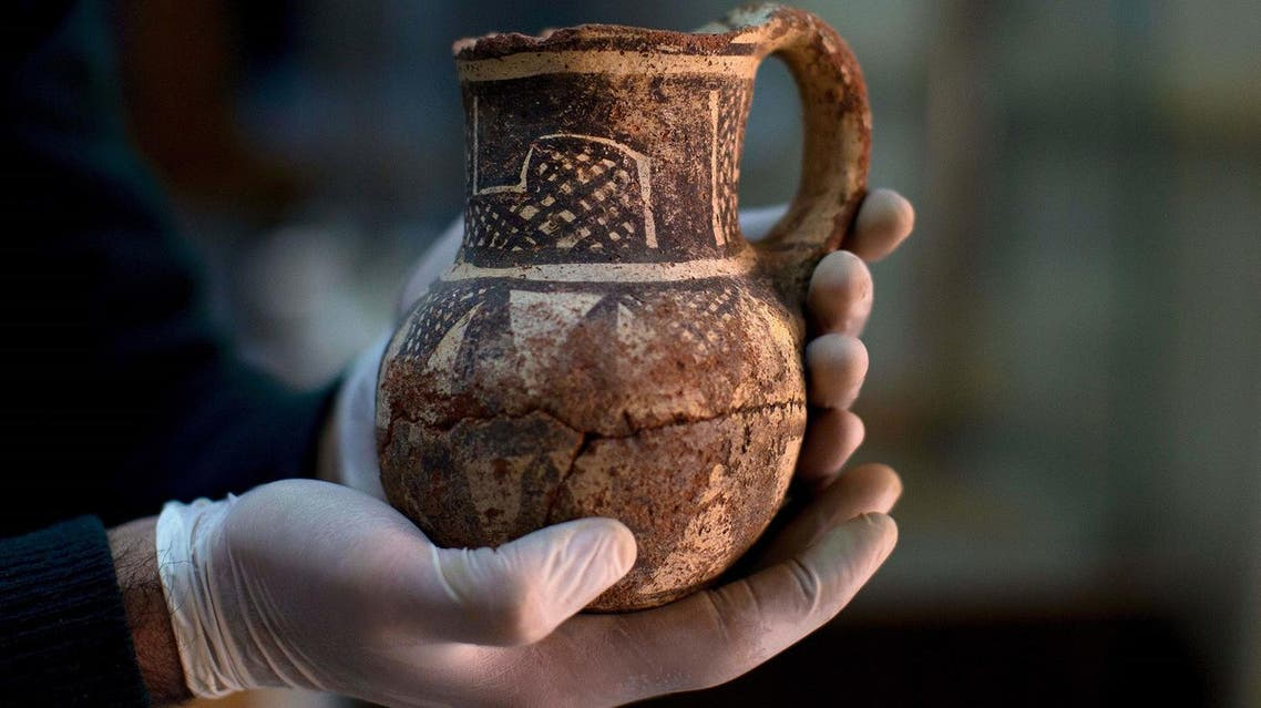Faced with the Islamic State group onslaught and destruction by looters, Syrian antiquities authorities succeeded in evacuating hundreds of thousands of artifacts from museums. (AP)