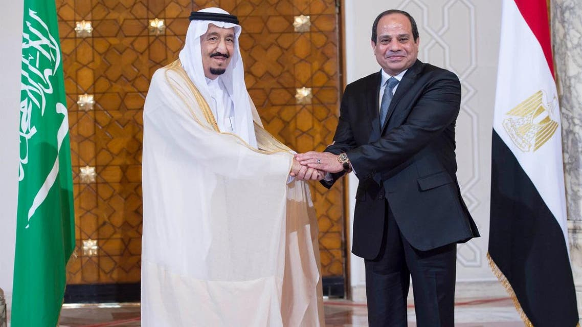 Saudi Arabia's King Salman is currently on his second day in Egypt in an official state visit. (SPA)