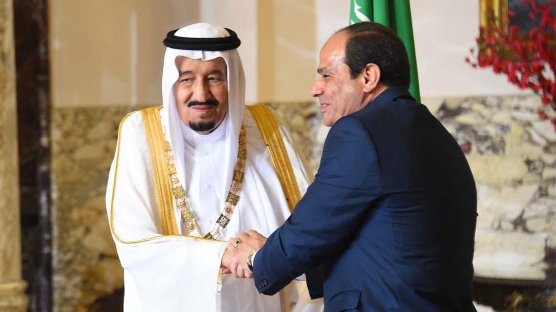 قلادة النيل السيسي والملك سلمان
