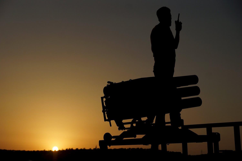 عنصر من الجيش السوري الحر في درعا (أرشيفية)