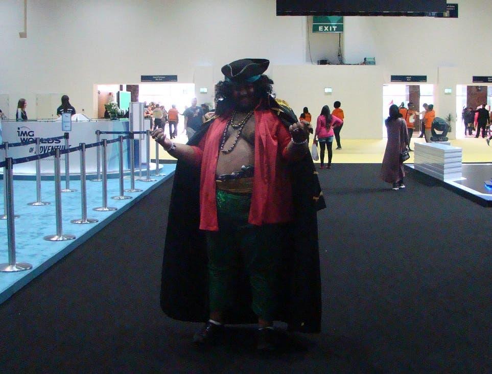 A cosplayer at MEFCC 2016. (Tarek Ali Ahmad, Al Arabiya English)