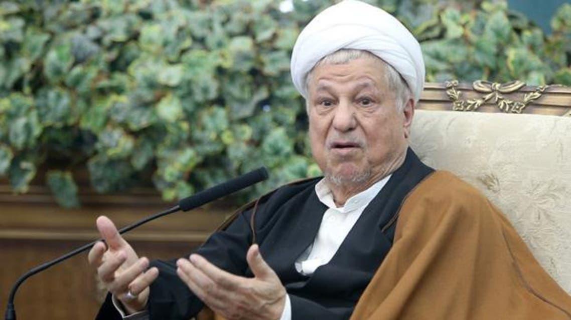 رئيس مجلس تشخيص مصلحة النظام الإيراني أكبر هاشمي رفسنجاني