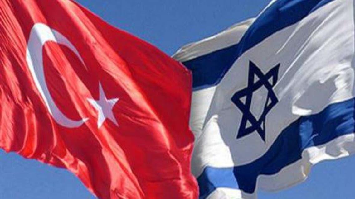 پرچم ترکیه و اسرائیل