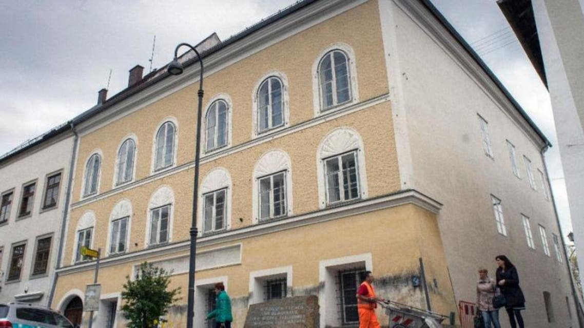 The house where Adolf Hitler was born in Braunau Am Inn, Austria has been empty since 2011 when the government became embroiled in a dispute with owner Gerlinde Pommer, a local resident (AFP Photo/Joe Klamar)