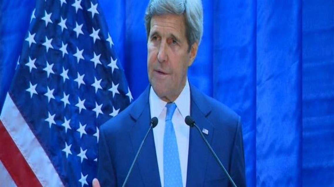 THUMBNAIL_ كيري يؤكد من بغداد دعم بلاده للعبادي