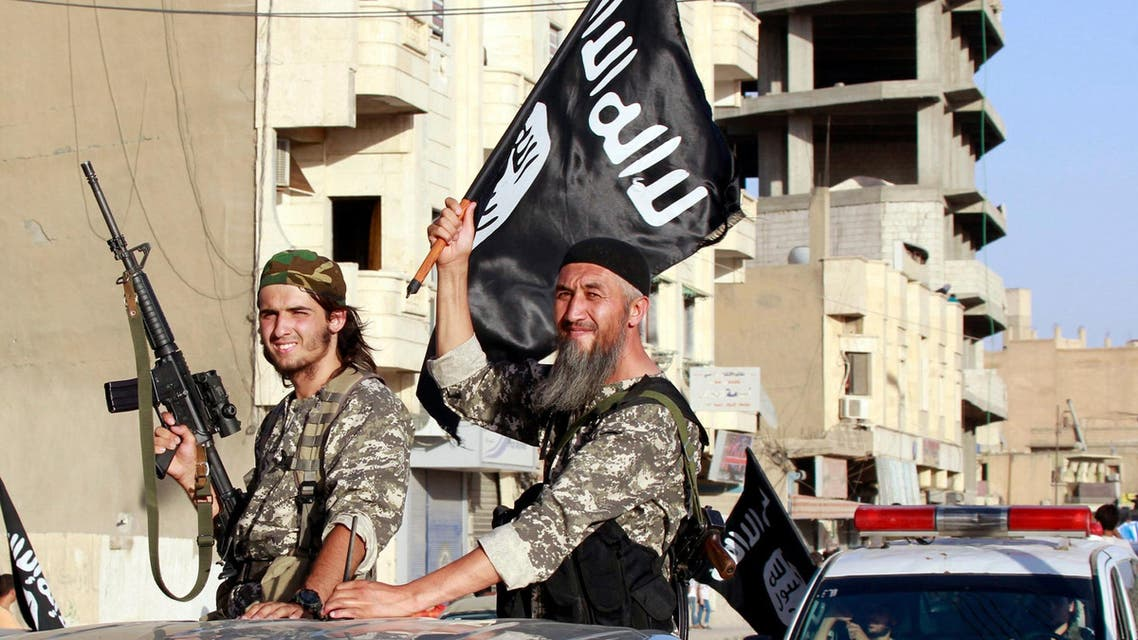 ISIS fighters in Syria's Raqqa province. (File photo: Reuters)