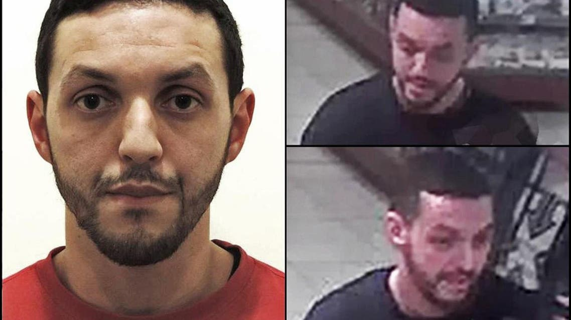 This undated photograph provided by Belgian Federal Police shows Mohamed Abrini who is wanted by police in connection with recent attacks in Paris, as a police investigation continues on Tuesday Nov. 24, 2015. The federal prosecutor's office on Tuesday issued an international warrant for Mohamed Abrini, who is being tracked by both Belgian and French police. Authorities are looking for Abrini because he was seen with fugitive Salah Abdeslam at a gasoline station in Ressons on the highway to Paris two days before the attacks. (Belgian Federal Police via AP)