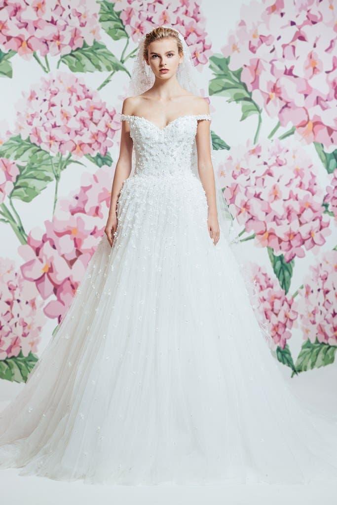عروس جورج حبيقة فراشة بيضاء