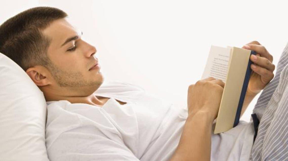 القراءة قبل النوم