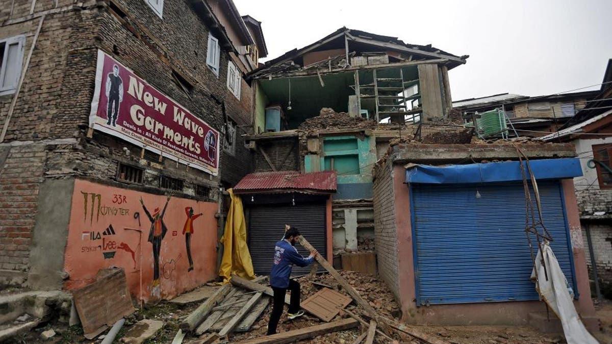 هزة أرضية بقوة 6.2 تضرب مقاطعة آسام شمال شرق الهند
