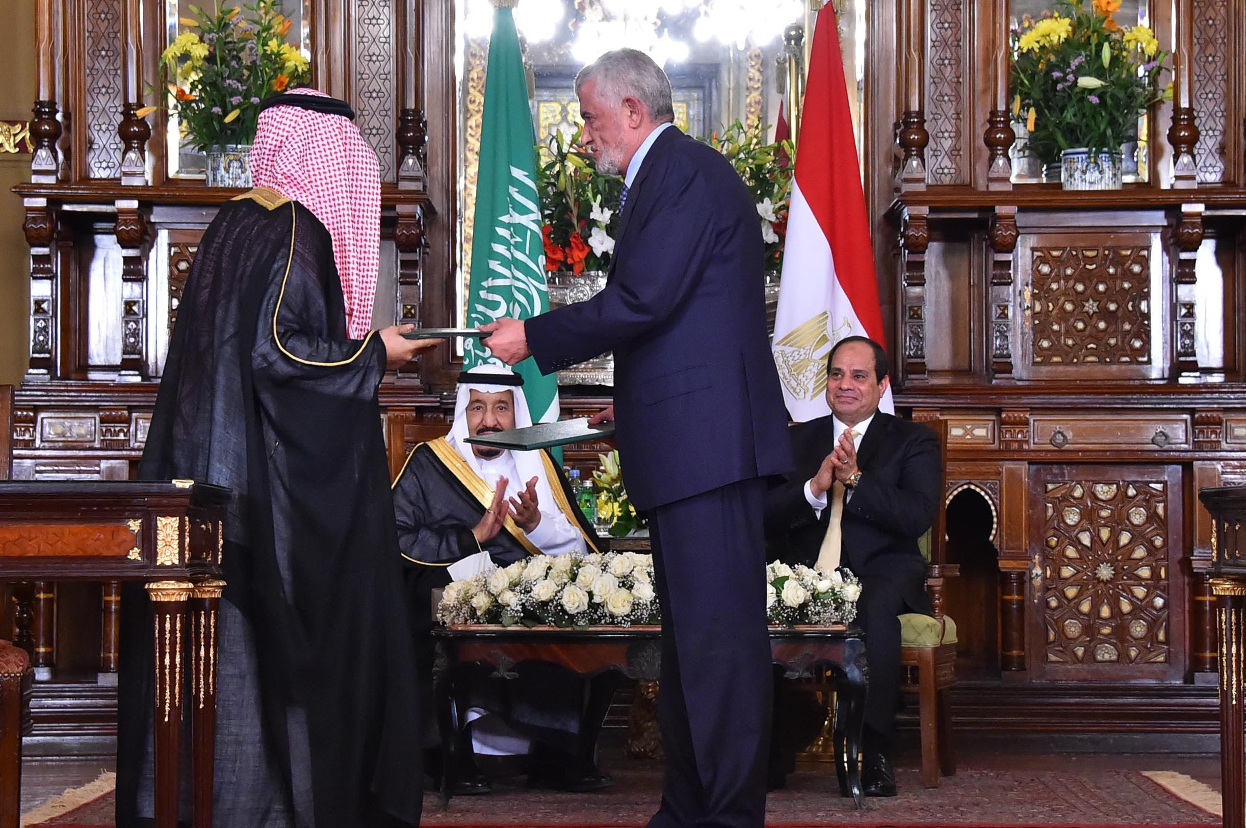 الملك سلمان والرئيس السيسي يشهدان توقيع اتفاقيات اقتصادية