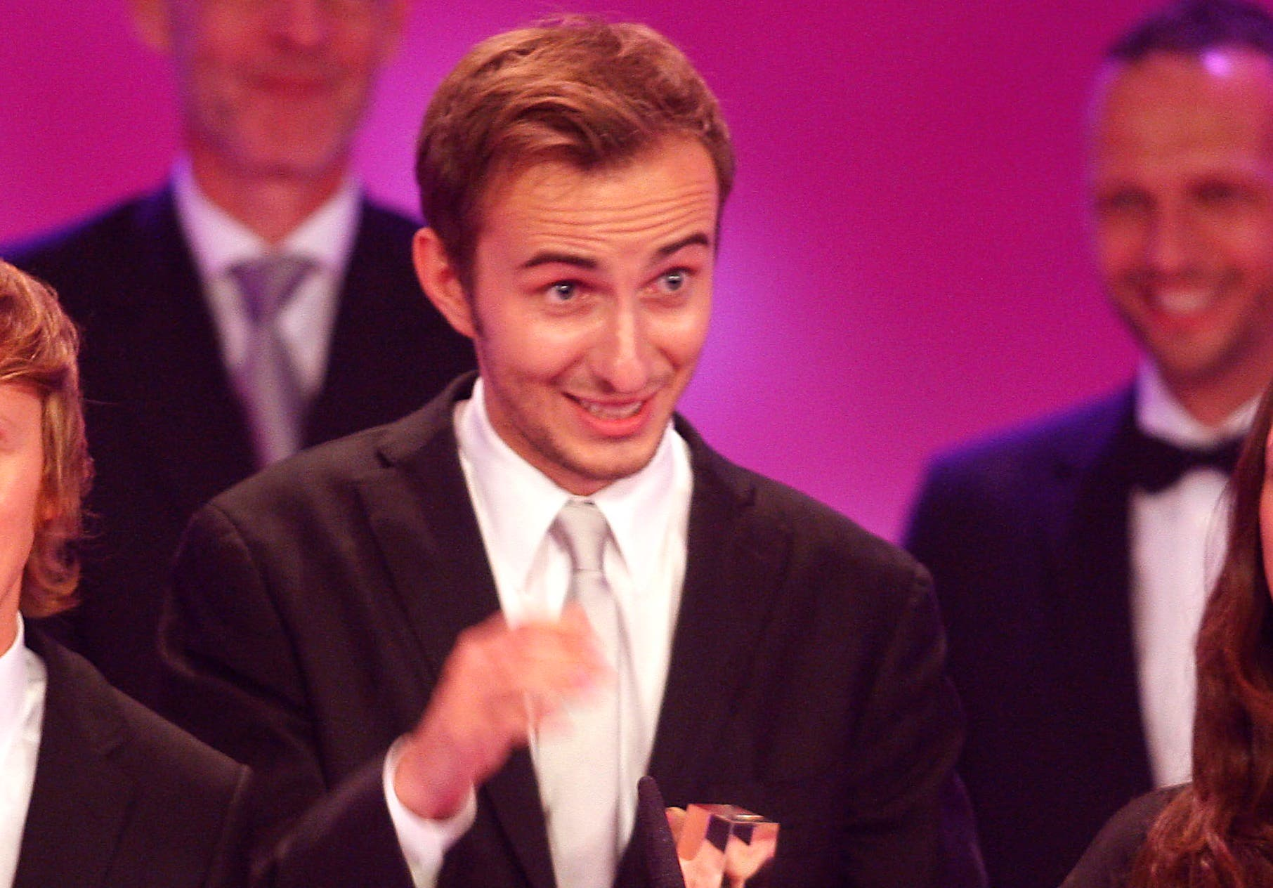 Boehmermann, who has made a name for himself by pushing the boundaries of satire in a once-staid media landscape, made clear on the show that he was courting controversy. (File photo: AP)