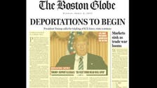 Trump calls Boston Globe 'worthless' in response to satirical front page