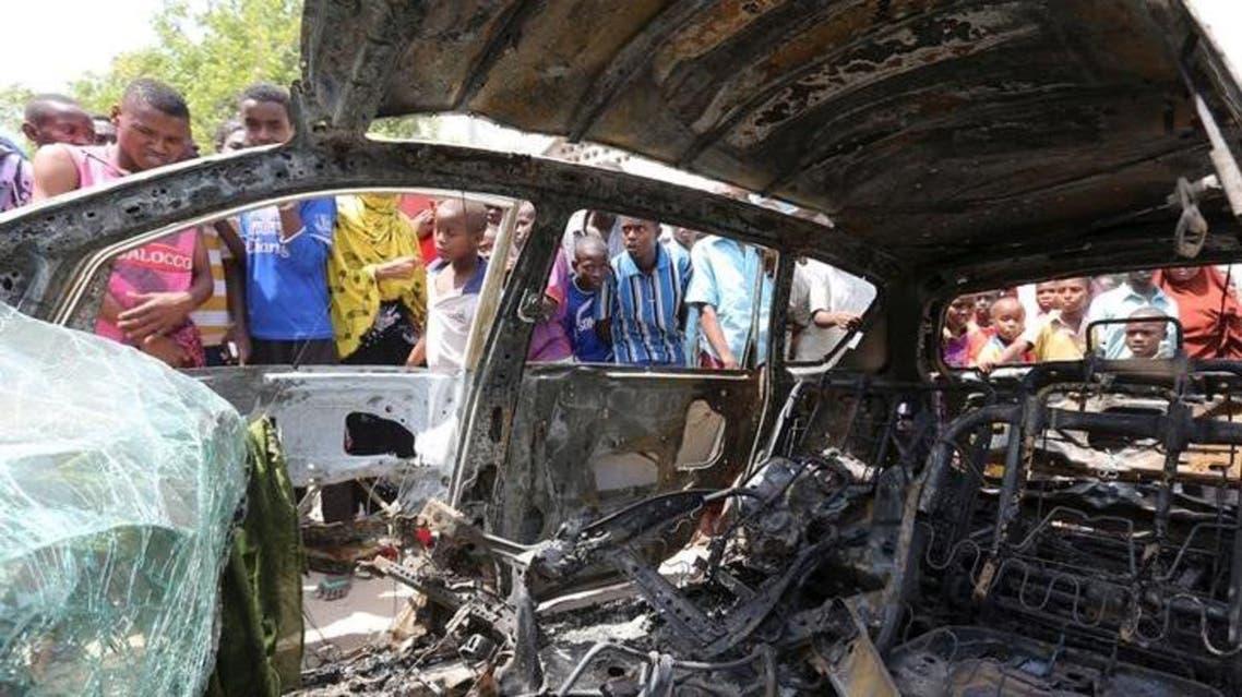 |انفجار سيارة ملغومة سابق في مقديشو (أرشيفية) الصومال حركة الشباب