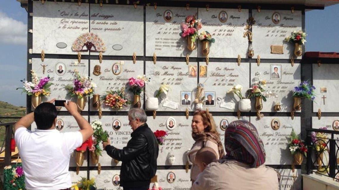 محمد قضى بعمر 4 سنوات غرقاً ودفن في مقبرة بلدة ريبيرا قرب اغريجنتي في صقلية