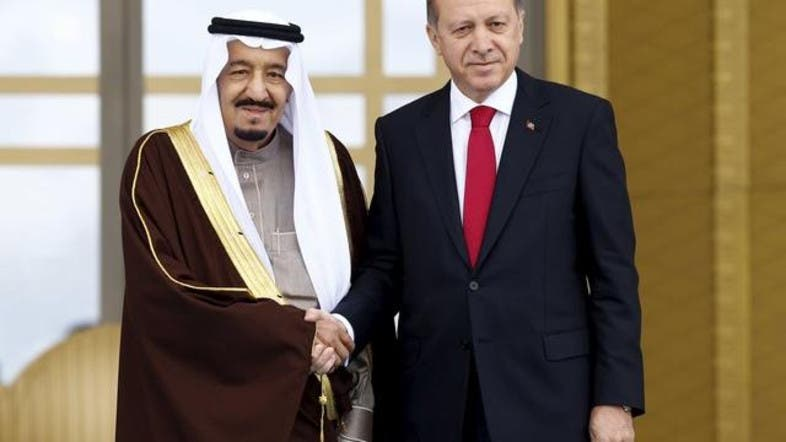 أردوغان يمنح خادم الحرمين الشريفين أعلى وسام جمهوري
