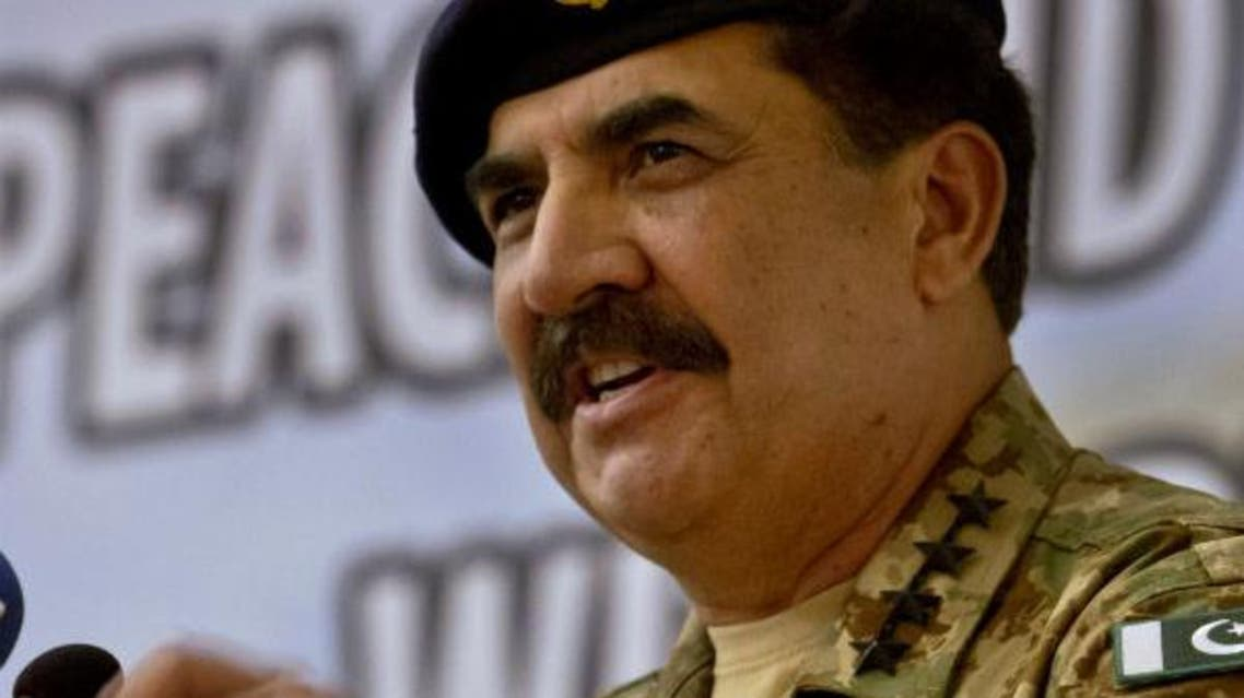 Pakistan's Army Chief General Raheel Sharif addresses at a seminar on 'Prospects of Peace And Prosperity In Balochistan' in Gwadar, Pakistan. (File photo: AP)