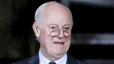دي ميستورا: الانتقال السياسي في سوريا هدف المفاوضات