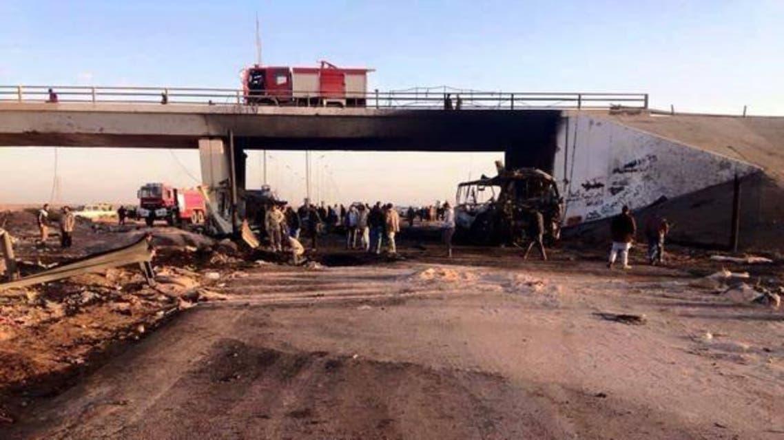 تفجير انتحاري في بوابة شرقي مصراته