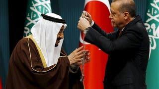 الرئيس التركي يمنح خادم الحرمين الشريفين أعلى وسام جمهوري