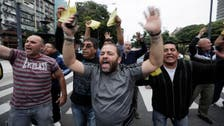 Following Egypt's cabbies, Argentinian taxi drivers protest Uber launch
