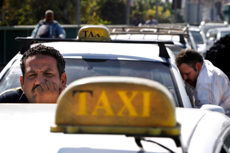 egyp taxi drivers AP