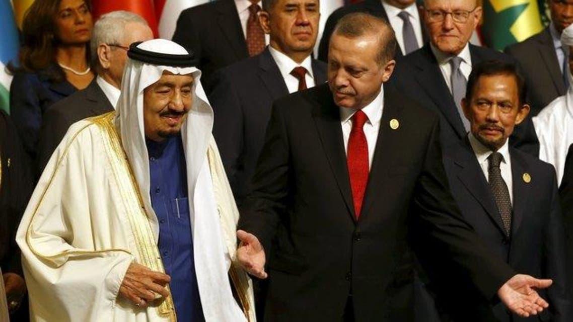الملك سلمان القمة الاسلامية اسطنبول
