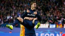 Atletico reach semis as Griezmann double knocks out Barca