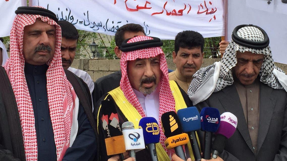 متظاهرو الأنبار في أربيل